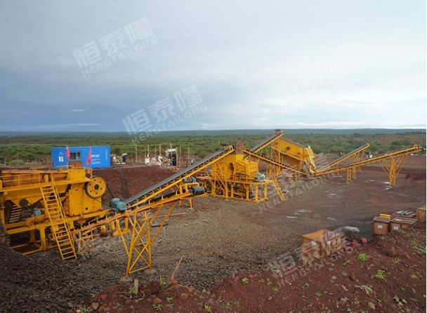 Stone and sand production line